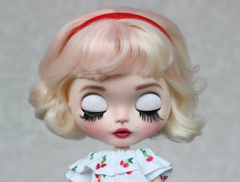 ʻO Marilyn Monroe - Custom Blythe Kāpena Hoʻokahi-Of-A-ʻAno OOAK