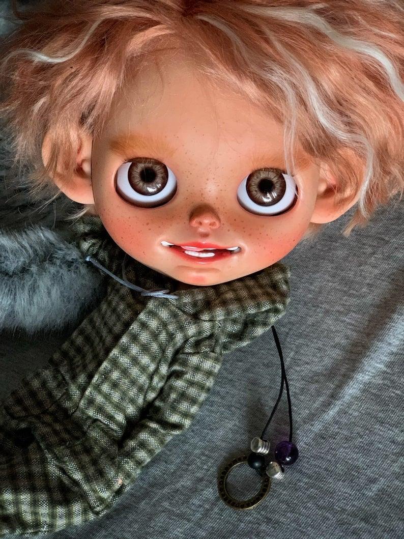 Mark - Custom Blythe Doll One-Of-A-Kind OOAK Custom Blythe Doll (OOAK)