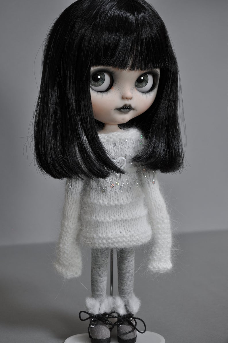 Mercy – Custom Blythe Doll One-Of-A-Kind OOAK Custom Blythe Doll (OOAK)