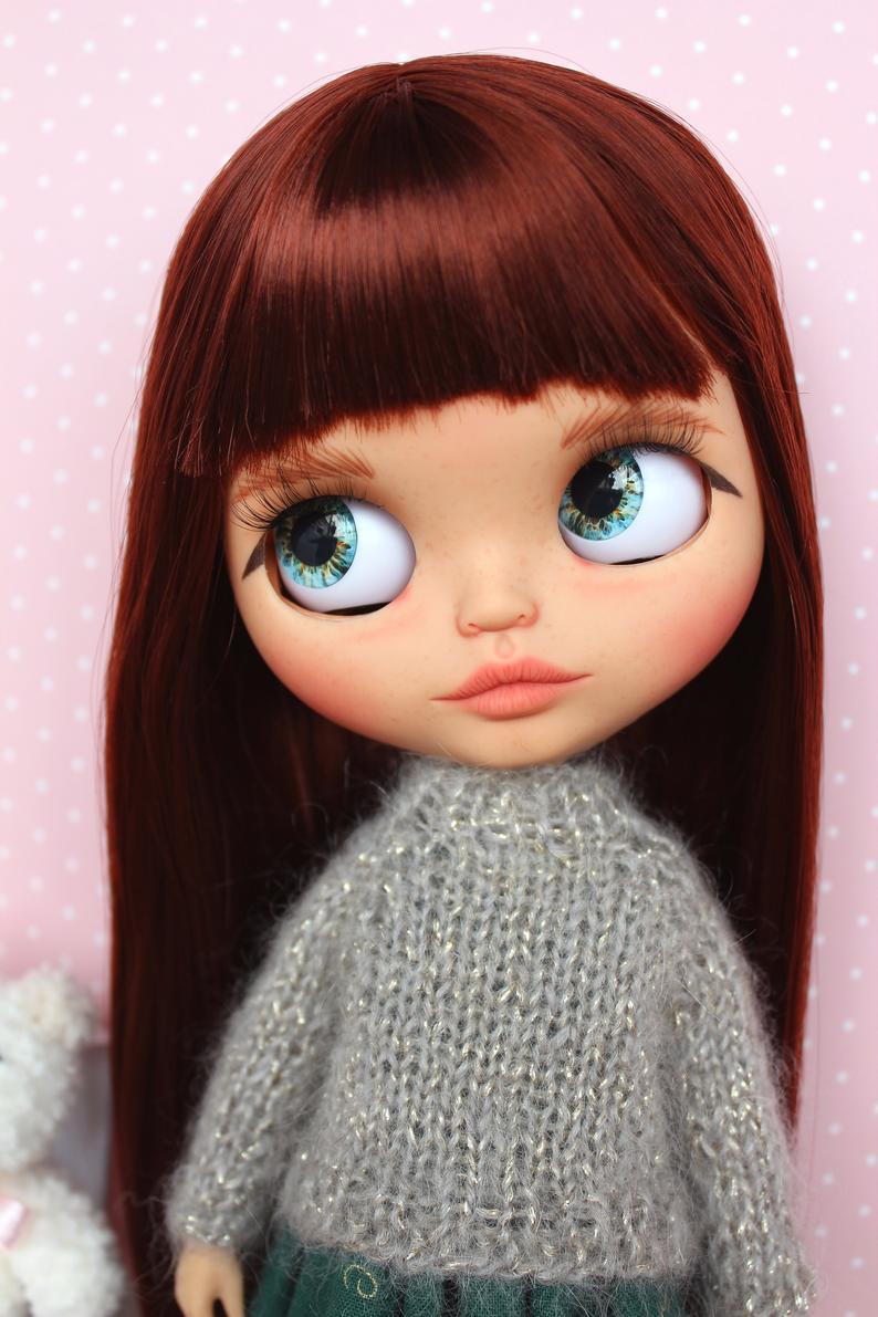 Mia - Custom Blythe Doll One-Of-A-Kind OOAK Custom Blythe Doll (OOAK)