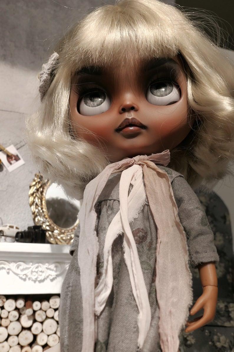 Olivia - Custom Blythe Doll One-Of-A-Kind OOAK Custom Blythe Doll (OOAK)