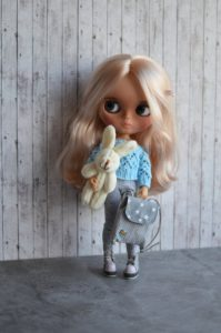 Orla – Custom Blythe Doll One-Of-A-Kind OOAK Custom Blythe Doll (OOAK)