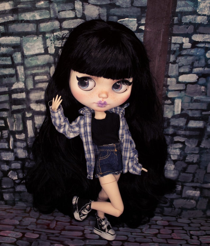 Robyn - Custom Blythe Doll One-Of-A-Kind OOAK Custom Blythe Doll (OOAK)
