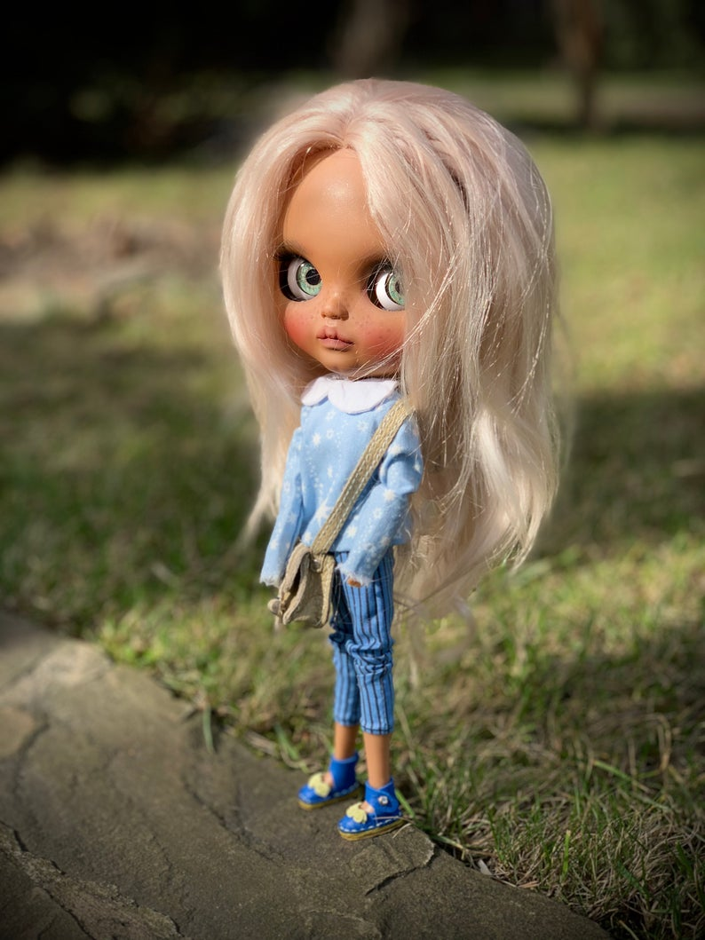 Tina - Custom Blythe Doll One-Of-A-Kind OOAK Custom Blythe Doll (OOAK)