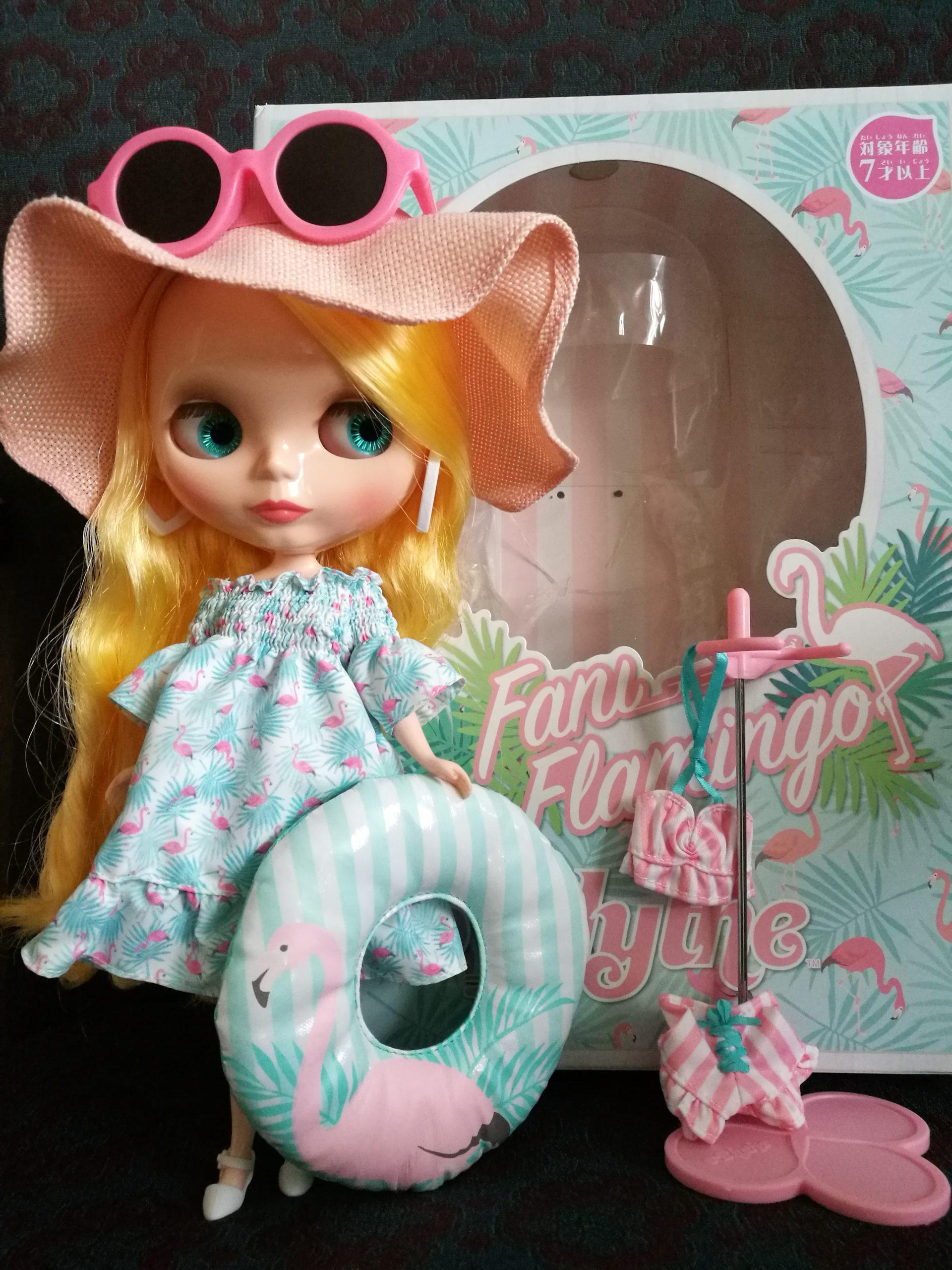 Veronica Flamingo Original Blythe Doll Actual Photo