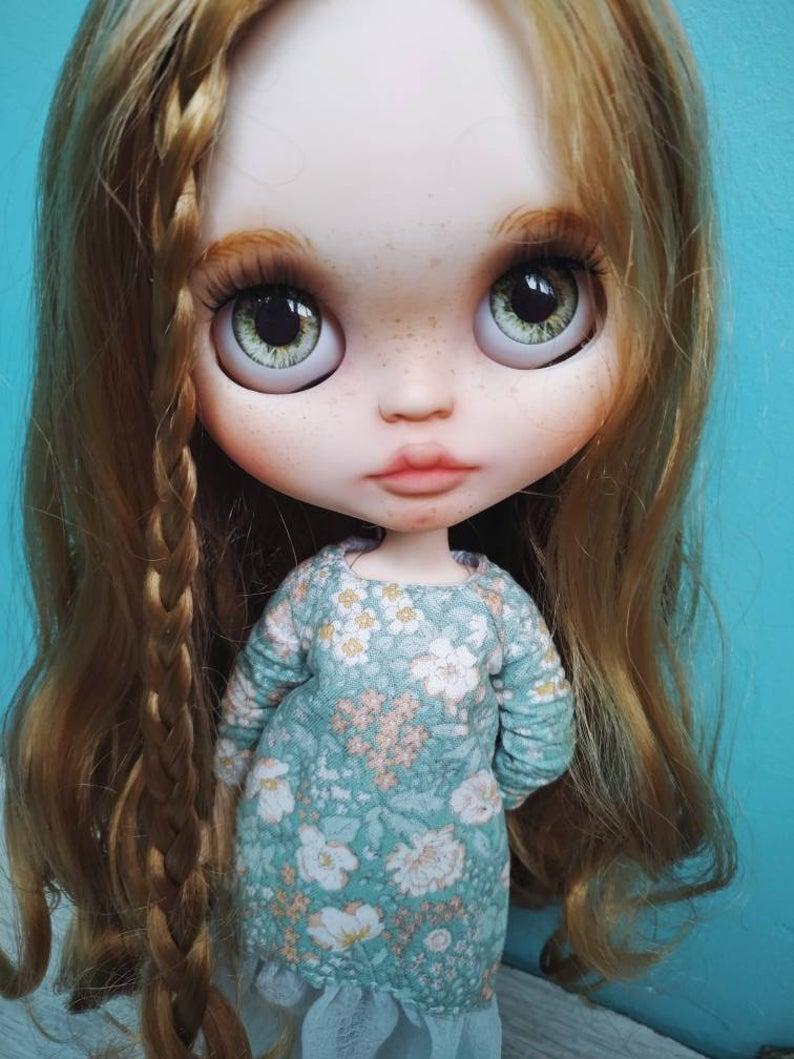 Violet - Custom Blythe Doll One-Of-A-Kind OOAK Custom Blythe Doll (OOAK)