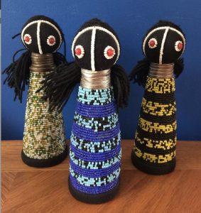 ghana figurine doll