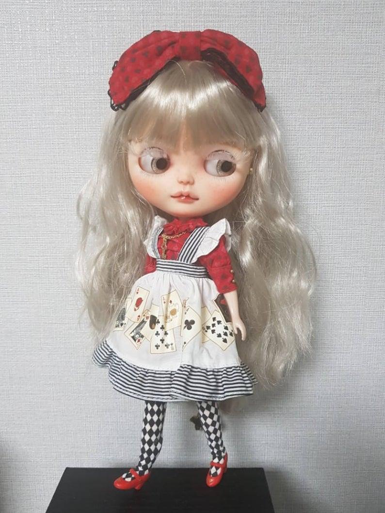 Dark Rabbit Hole - Custom Blythe Doll One-Of-A-Kind OOAK Custom Blythe Doll (OOAK)