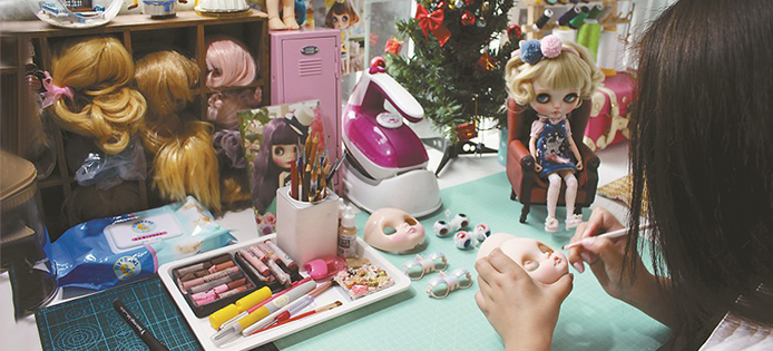 blyhe doll customization