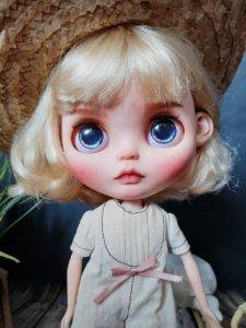 tilpasset blythe dukke