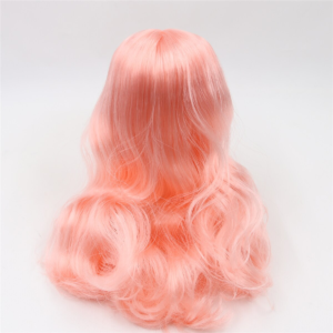 Neo Blythe Doll Pink Hair with Takara RBL Scalp Dome 1