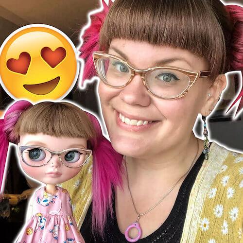 Blythe Puppenbesitzer sehen gleich aus