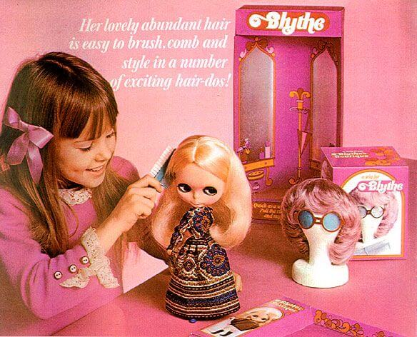 kenner blythe doll annonce