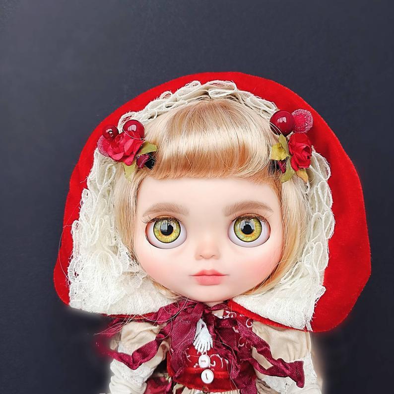 Freya – Custom Blythe Doll One-Of-A-Kind OOAK
