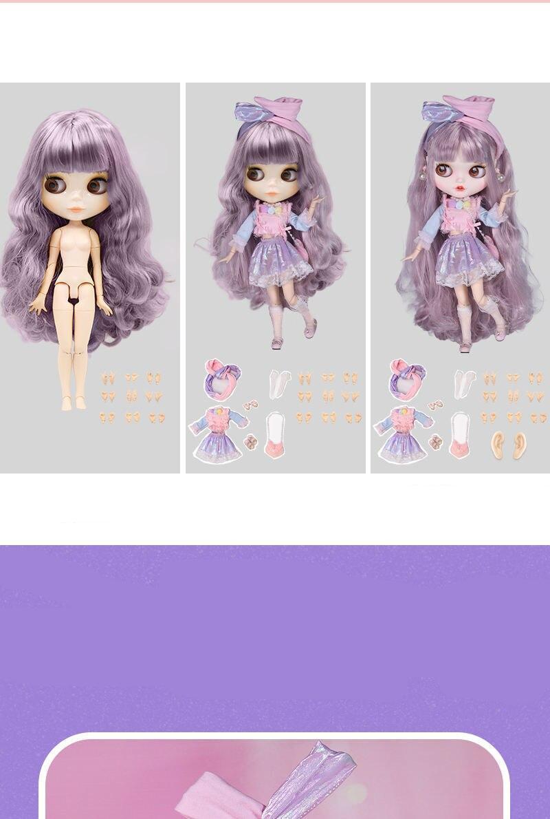 Liana – Premium Custom Blythe Doll with Smiley Face 5