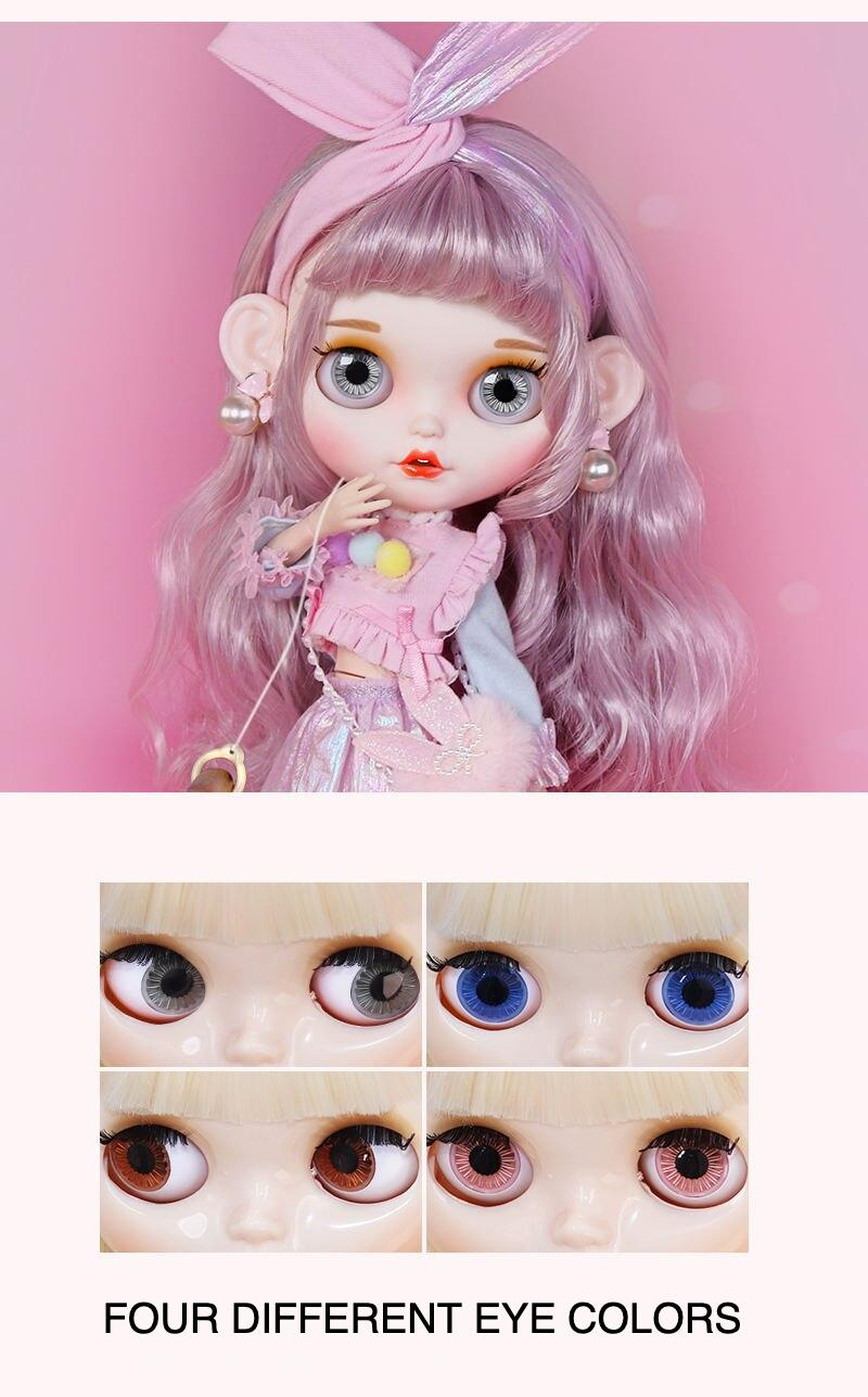 Liana – Premium Custom Blythe Doll with Smiley Face