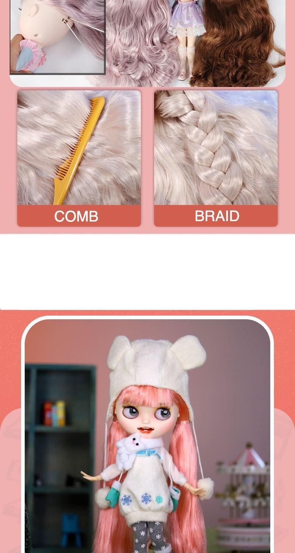 Premium Custom Neo Blythe Doll Halloween & Christmas Combo 4