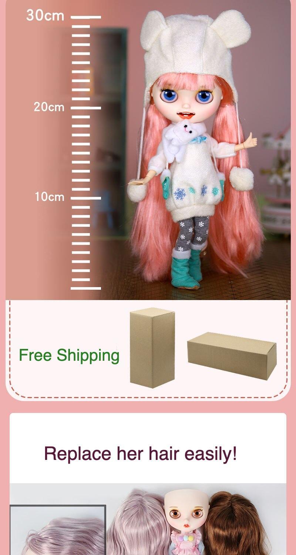 Premium Custom Neo Blythe Doll Halloween & Christmas Combo 3