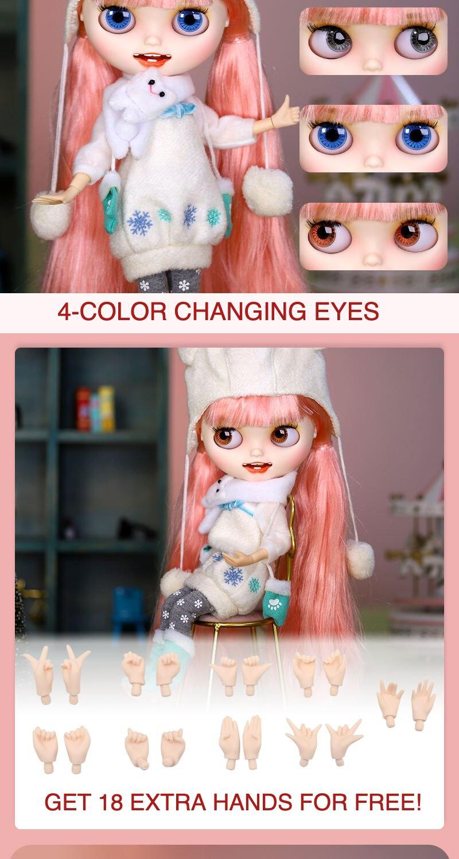 Premium Custom Neo Blythe Doll Halloween & Christmas Combo 2